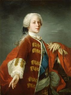 """""""Prince Henry Benedict Stuart"""" by Louis Gabriel Blanchet in the Royal Collection, UK Stuart Dynasty, Jean Antoine Watteau, Roi George, Adele, House Of Stuart, Bonnie Prince Charlie, Royal Collection Trust, Prince Henry, Prince Charles"""