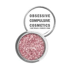 OCC: COSMETIC GLITTERS in Pink (pale salmon pink)   Obsessive Compulsive Cosmetics