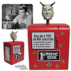 Amazon.com: The Twilight Zone Mystic Seer Replica by Bif Bang Pow!: Toys & Games