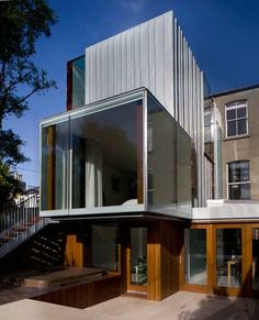 Matilde, South Dublin house, Ireland property design by Ailtireacht Architects, building images: Irish residential architecture news, home development Residential Architecture, Interior Architecture, Unique Architecture, Dublin House, Victorian Terrace House, New Staircase, Archi Design, Minimal Home, House Extensions
