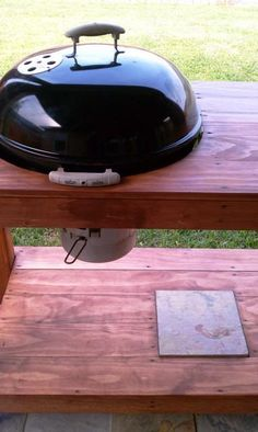 Grill Table - Weber Kettle    Grill Table - Weber Kettle - TexasBowhunter.com Community Discussion ...