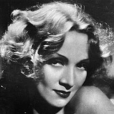 Marlena Dietrich Always got told I looked like her. /****She had a really difficult time after WWII.