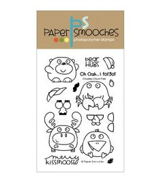 Paper Smooches Clear stamps Chubby Chum Pals
