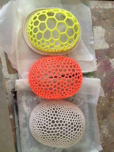 The prototype Hot Fan, 3d Printer Designs, Helmet Design, Modular Design, Innovation Design, Textures Patterns, Surface Design, 3d Printing, Objects