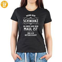 Damen Shirt für Frauen - einmal was ganz anders - Wenn mein … Sex Motiv unanständiges Frauen T-Shirt Farbe: schwarz Gr: XXL - Shirts zum 18 geburtstag (*Partner-Link)