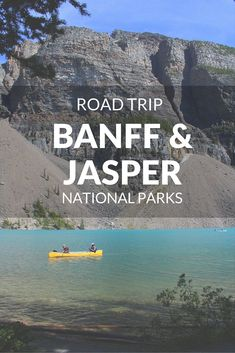 Share Tweet Pin Mail The scenery of Banff and Jasper National Parks is simply incomparable. They're both located in the Rocky Mountains, in the ...