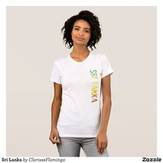 Sri Lanka T-Shirt - Fashionable Women's Shirts By Creative Talented Graphic Designers - #shirts #tshirts #fashion #apparel #clothes #clothing #design #designer #fashiondesigner #style #trends #bargain #sale #shopping - Comfy casual and loose fitting long-sleeve heavyweight shirt is stylish and warm addition to anyone's wardrobe - This design is made from 6.0 oz pre-shrunk 100% cotton it wears well on anyone - The garment is double-needle stitched at the bottom and sleeve hems for extra…