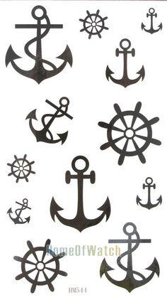 tatuajes de timon y ancla - Buscar con Google                                                                                                                                                      Más