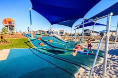 Commercial Playground Design | Active Park - Bells Reach | Urban Play