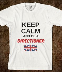 Keep Calm Directioner Tee