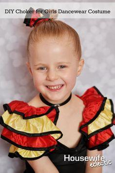 cb3a7de1f09cf6 DIY Jeweled Choker for Girls Dancewear Costume