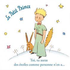"""""""TOI TU AURAS DES ETOILES COMME PERSONNE N' EN A..."""" - Le Petit Prince"""