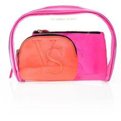 Victoria's Secret Makeup Bag Trio $32