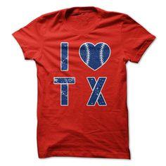 I Heart TX #sport #tshirt
