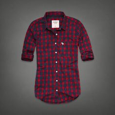 Classic Plaid Shirt | Abercrombie.com | Check out our Pin To Win Challenge at http://on.fb.me/UfLuQd