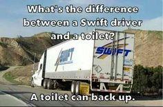 Swift Driver vs Toilet