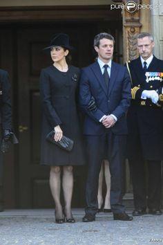 la princesse Mary et son époux le prince Frederik