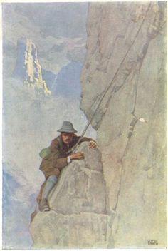 Alpine Climbing, Mountain Climbing, Rock Climbing, Vintage Ski, Vintage Posters, Mountain Pictures, Generative Art, Advertising Poster, Mountaineering
