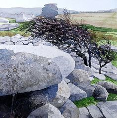 Bodmin Moor Stowes Hill early a.m. -Ian Sidaway
