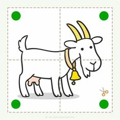 Preschool and children& animal puzzle, let& cut. - Preschool and children& animal puzzle, let& cut. Preschool and children& animal p - Preschool Education, Preschool Learning Activities, Book Activities, Preschool Activities, Kids Learning, Flashcards For Kids, Puzzles For Kids, Safety Rules For Kids, Animal Puzzle