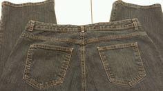Womens Kim Rogers jeans Sz 16W dark wash stretch denim #KimRogers #regularfit