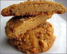 Cookies au beurre de cacahuetes