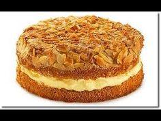 Bienenstich torta de masa quebrada con crema de almendras, delicioso postre alemán - YouTube