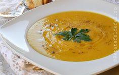 SUPA CREMA DE NAUT - Rețete Fel de Fel Thai Red Curry, Ethnic Recipes, Food, Meal, Eten, Meals