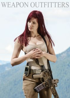 weaponoutfitters: Hope your summer has been filled with adventures and exploration.Susan with an AR build using the B5 Systems SOPMOD and P-grip. A Lancer Systems Advanced Warfight Magazine feeds the rifle!Battles Arms Development Combat Ambi Safety SelectorAs always, thanks your support and your business!