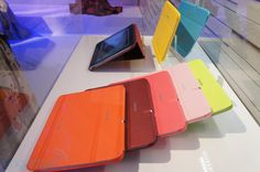 A similar type of case...Samsung Galaxy Note 10.1 cases and keyboard dock hands-on - Engadget Galleries