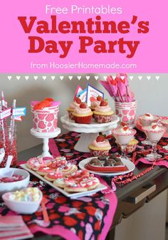Put together this budget friendly Valentine's Day Party for Kids that they will remember for years. Treats, decorations, party favors and more!