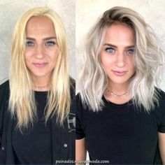 cool ash blonde balayage shades silver shoulder length straight beige sandy icy - April 20 2019 at Black To Blonde Hair, Icy Blonde, Blonde Hair With Dark Roots, Platnium Blonde Hair, Toning Blonde Hair, Toner For Blonde Hair, Platinum Blonde Balayage, Medium Blonde Hair, Brown To Blonde Hair Before And After