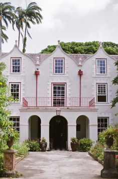 Photography by Nancy Neil — in Barbados.  St. Nicholas Abby Plantation.  One of 3 Jacobean Buildings in the Western Hemisphere of the Globe.  Barbados has 2 of those 3.