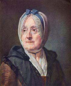 1775 Portrait of Françoise Marguerite Pouget - Jean-Baptiste-Simeon Chardin