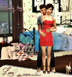 Sims 4 CC's - The Best: Posen by Katherine Sims