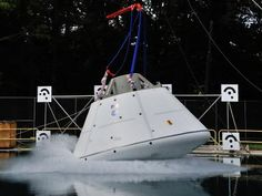 Orion Spacecraft Water Impact Testing