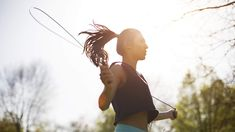 Sick of pounding out your cardio on the treadmill? Then you've got to try this jump-rope workout from Kira Stokes, creator of The Stoked Method.
