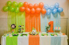 Resultado de imagen para cumpleaños de selva