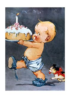 "Hey I am not saying you are ""OLD"" or anything ! But this is a vintage birthday card !"