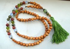 Pregnancy Support Mala with Wood