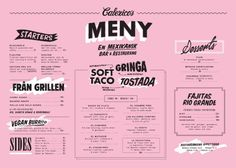 Art of the Menu: Calexico's