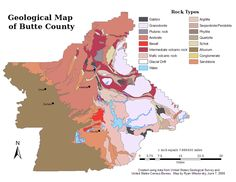 """Information about """"Butte_Geology.png"""" on geology - Chico - LocalWiki"""
