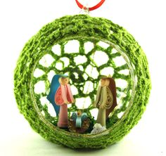 Christmas+ornament++tree+ornament++quill+christmas+by+ColombiArts,+$10.00
