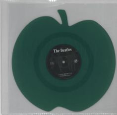 The Beatles, Love Me Do - Green Apple Shaped, UK, Deleted, shaped picture disc (picture disc vinyl record), Mischief Music, BEAT2, 598036