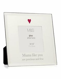 Silver Mix Glass Mum Photo Frame 75 x 75cm (3 x 3'')