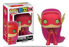 Buy Teen Titans Go! Starfire as The Flash Limited Edition Funko Pop! Vinyl from Pop In A Box Canada, the home of Funko Pop Vinyl collectibles figures and other Funko goodies! Teen Titans Go, Teen Titans Starfire, Pop Vinyl Figures, Funko Pop Figures, Lego Dc Comics, Funk Pop, Teen Tv, Pop Toys, Pop Television