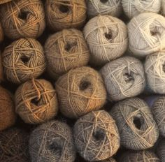 I've been obsessed with neutral yarn lately! Maybe bc I never use it! But this is really making me want to go yarn shopping.