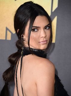 La queue de cheval en cascade de Kendall Jenner