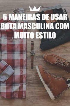 bota, masculina, estilo, moda