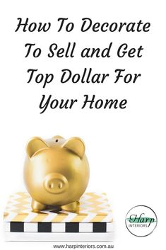 So you're ready to sell your home and of course, you want to get top dollar for it – but hiring a professional home stager may not be in your budget Well I'm going to give you some tips on how you can get your home looking like (and hopefully selling for
